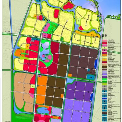 Land use plan of Lekki Free Zone (southwest quadrant)