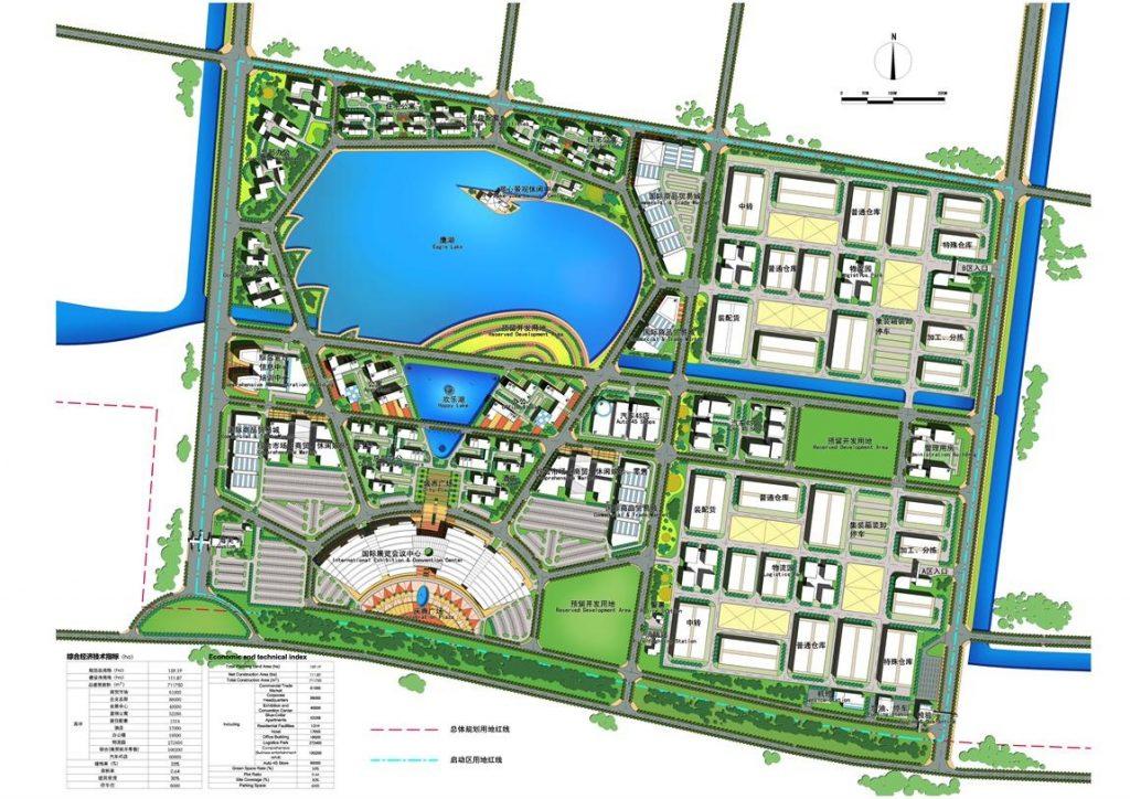 Lfz master plan lekki free zone development company lfzdc for Zone plan