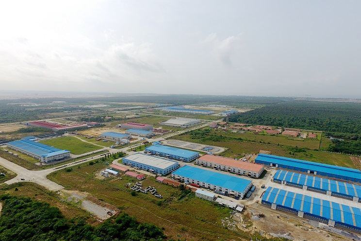 AERIAL VIEW OF LFZDC